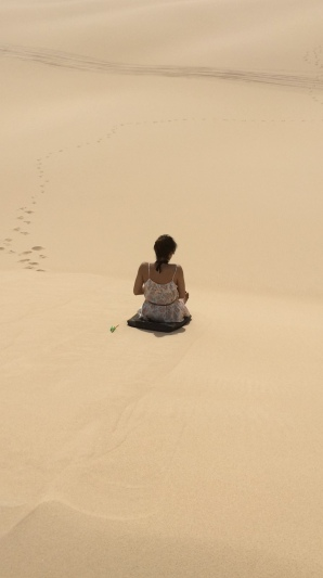 Me on the sand dunes!