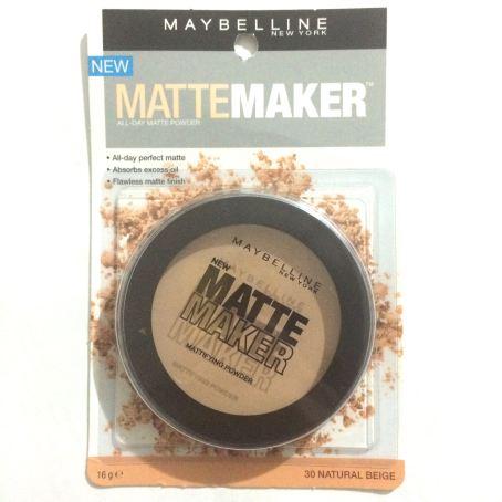 "Maybelline Matte Maker Powder in ""Natural Beige"" - $5.97."