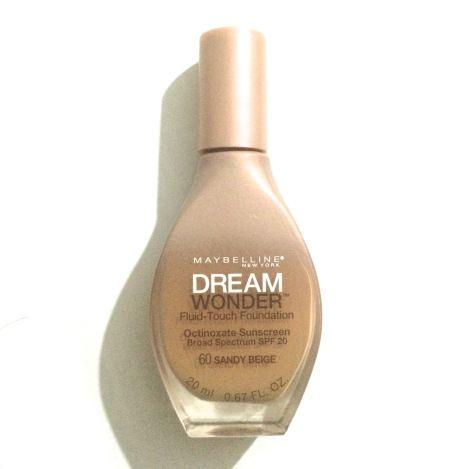 """Maybelline Dream Wonder Fluid-Touch Foundation in """"Sand Beige"""" - $10.98."""