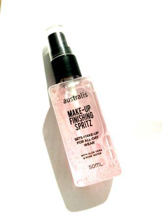 Australis Makeup Setting Spray - $4. This smells soo good!