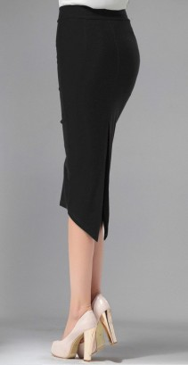 6XL-7XL-Plus-Size-Women-Summer-Style-Black-Office-Midi-Skirt-Formal-Bodycon-Pencil-Skirts-Saias