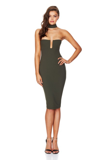 STEVIE_BODYCON-KHAKI-F